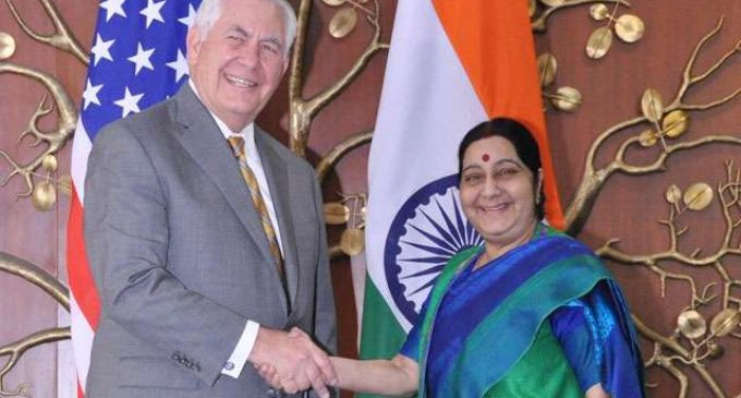 Rex Tillerson says India, US natural allies