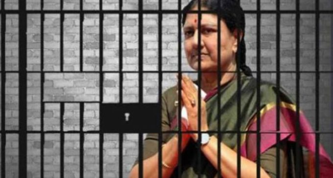Sasikala Granted 5-Day Parole To Visit Ailing Husband In Chennai