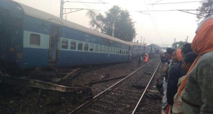 Vasco da Gama-Patna Express train derailed