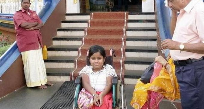Physically Challenged Woman Forbidden Temple Entry