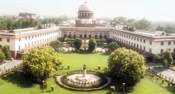 No  FIR  On  Judges: SC