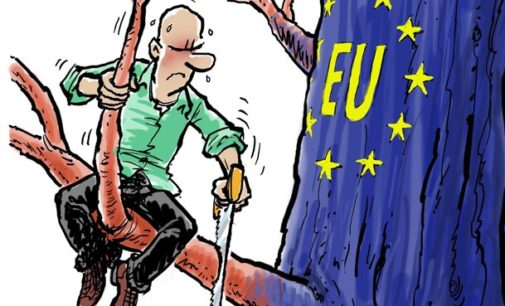 Germany-The  Strong Man Of  Europe In Trouble Waves!