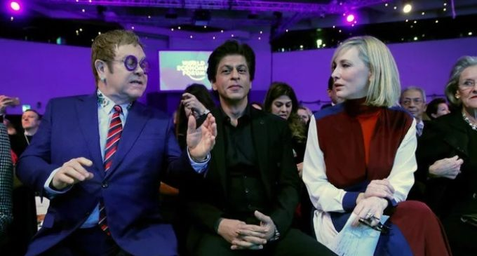Shah Rukh receives 2018 Crystal Award at Davos