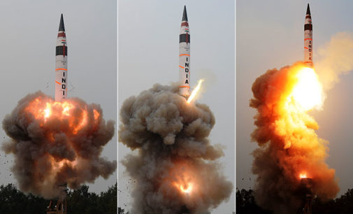 India successfully test-fires Agni 5 ICBM