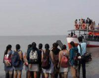 Boat carrying 40 students capsizes near Dahanu of Maharashtra