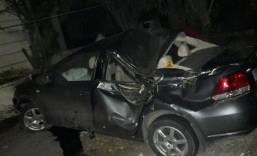 One dead, 4 hurt in ghastly road mishap in Film Nagar
