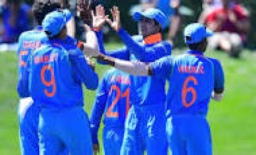 Indian Under-19 thrash Pakistan, enter finals