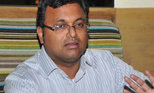Enforcement directorate conducts raids on Karthi Chidambaram's houses, offices