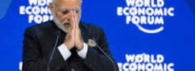 Modi hard-sells India at Davos, says people are backing his reforms