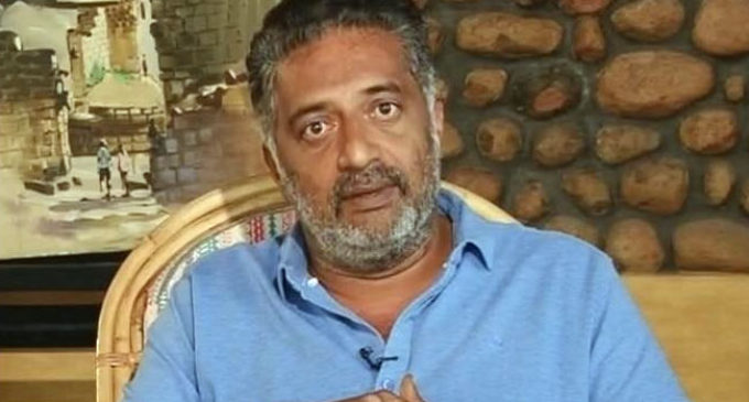 Prakash Raj says he is anti-Narendra Modi