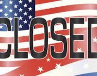 US Government shuts down!!!!