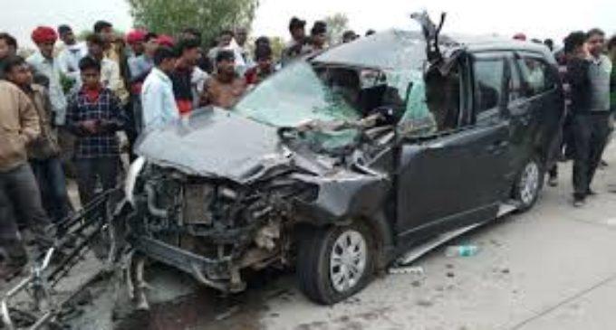 PM Narendra Modi's wife survives fatal car crash in Rajasthan