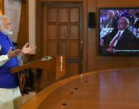 PM's address via Video Conference, at the World Conference on IT, Hyderabad