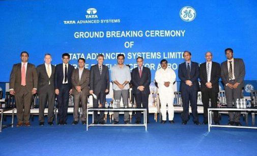 GE, Tata break ground for aerospace facility at Adibatla