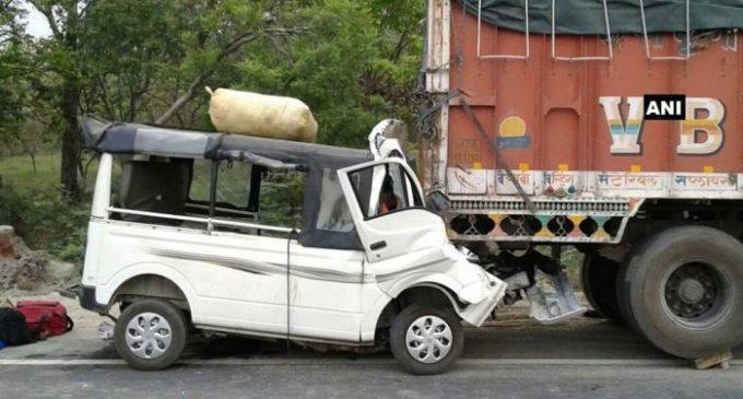 12 killed in accident in Uttar Pradesh