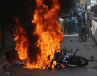 Bharat bandh .. violence in india..killed 7