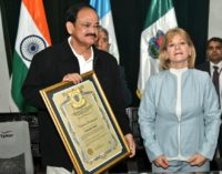 VP Shri Venkaiah Naidu visits World Heritage city of Old Guatemala to know of conservation