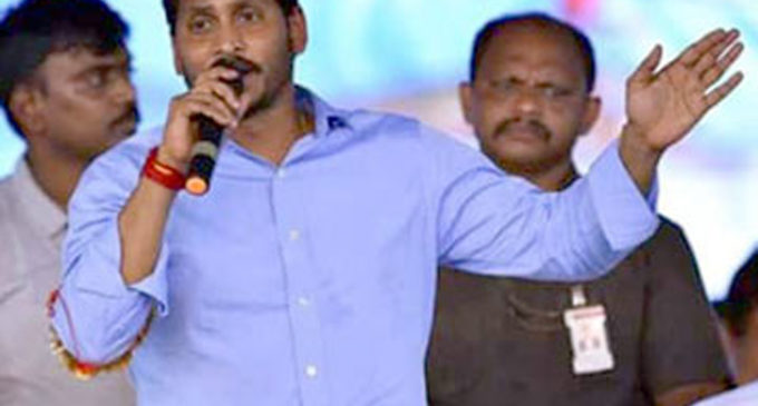 YS JAGAN- SCORING OWN GOAL