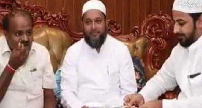 Did Kumaraswamy help IMA Ponzi Chief ?