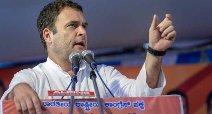 Rahuls Gandhi greed exposed ,says Yediyurappa