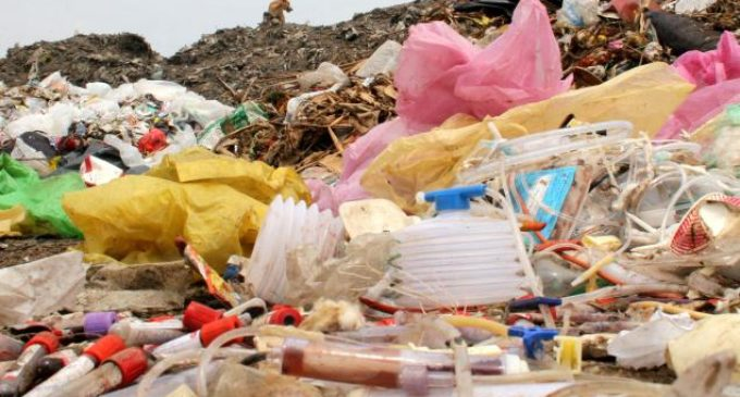 Britain smuggling medical waste to India ?