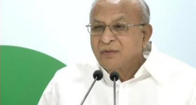 Icon of Indian politics , Jaipal Reddy no more