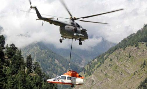 3 killed in Relief chopper crash in Uttarakhand