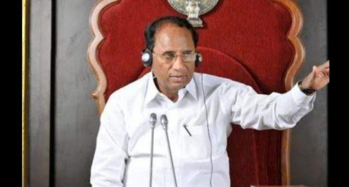 Ex speaker Kodela took away Assembly furniture?