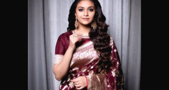 Keerthy Suresh bags national Best Actress award for Mahanati