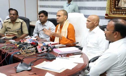 Tirumala Brahmotsavam will commence from September 30
