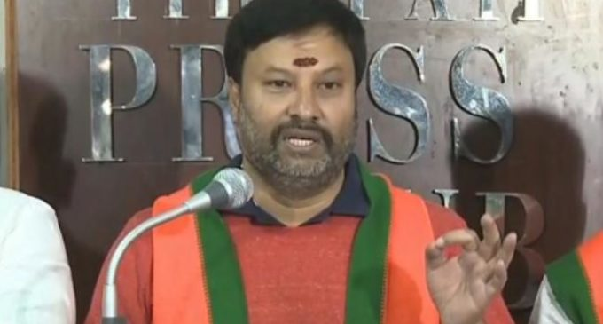 Silver crown other two gold ornaments missing from TTD temple treasury : BJP demands enquiry