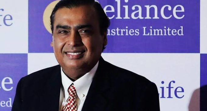 Mukesh Reliance gets 75 Bl dollar Saudi Aramco deal