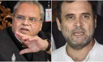 Congress and RaGa politicking again in Kashmir