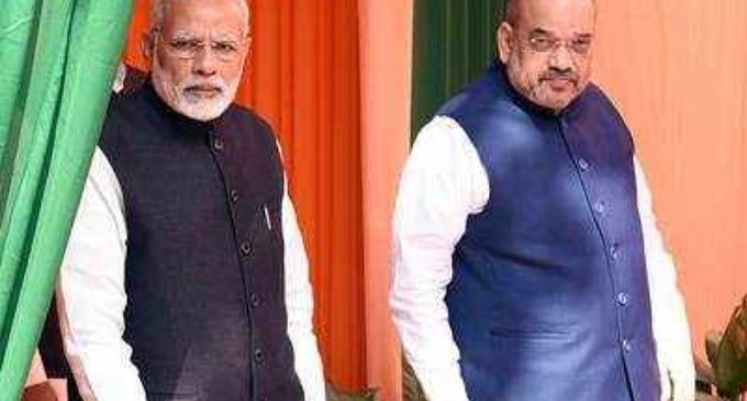 Modi-Shah, modern Krishna-Arjun !