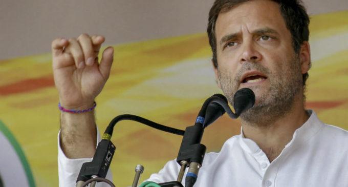 Rahul Gandhi calls Modi for relief works in Wynad