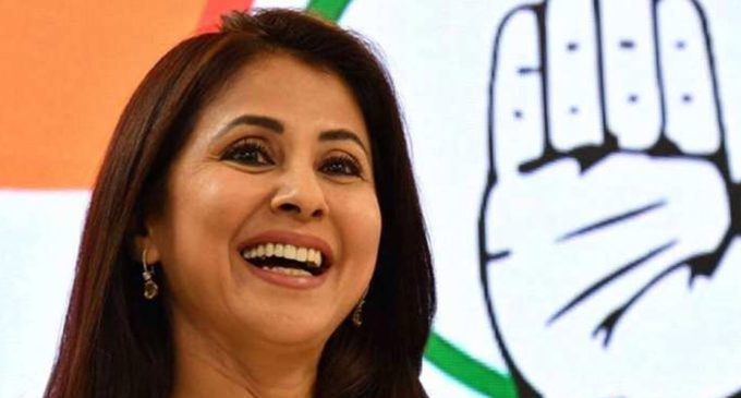 Rangeela girl dumps Congress