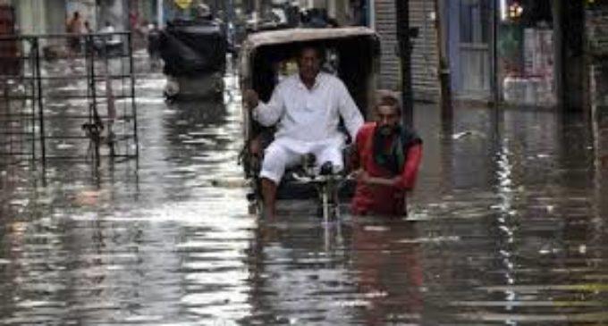 Bihar floats in heavy rain