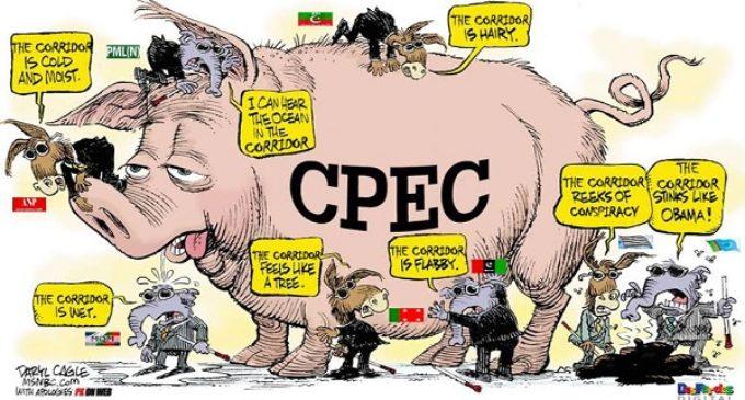 Pak-China building 50 Bl dollar corridor in PoK