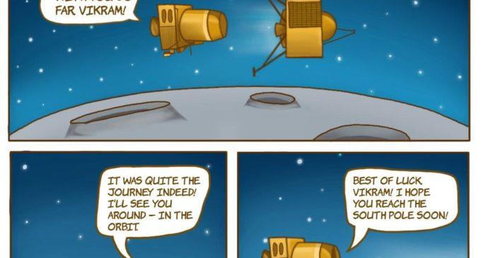 India lost Vikram and Pragyan on Moon ?