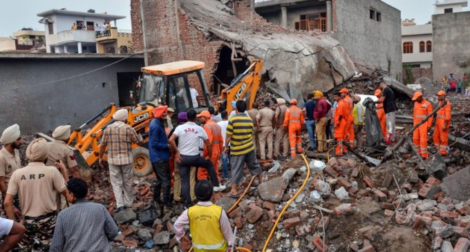 Blast in Punjab kills 23, more trapped in debris