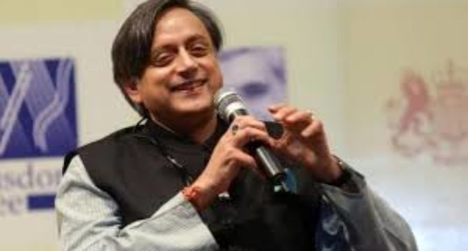 Now Tharoor supports Modi