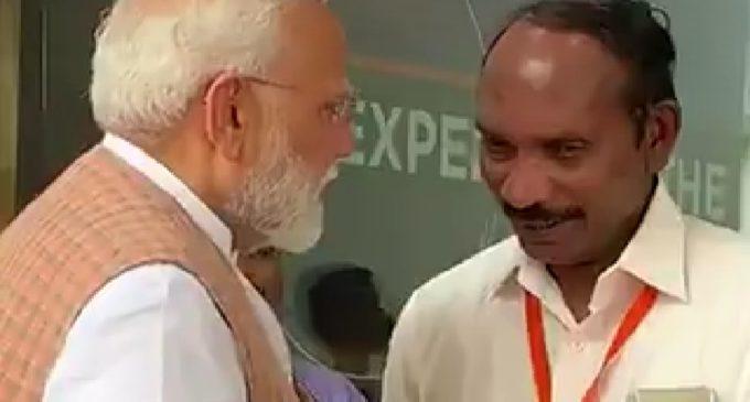 Modi consoles ISRO Chief Sivan