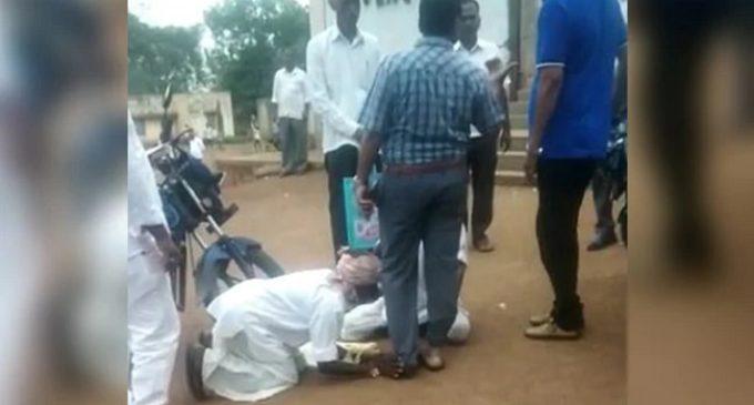 Telangana farmers plight, unpardonale officials