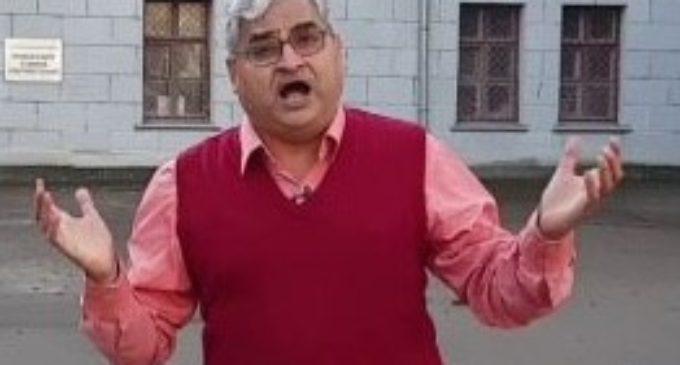 NDTV jurno gets highhanded again