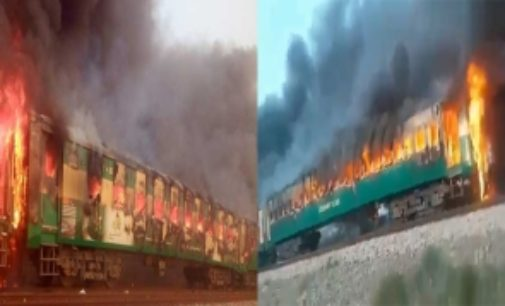 Pak train blast kills 62 passengers