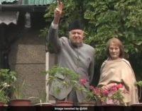 Abdullahs of Kashmir get visitors