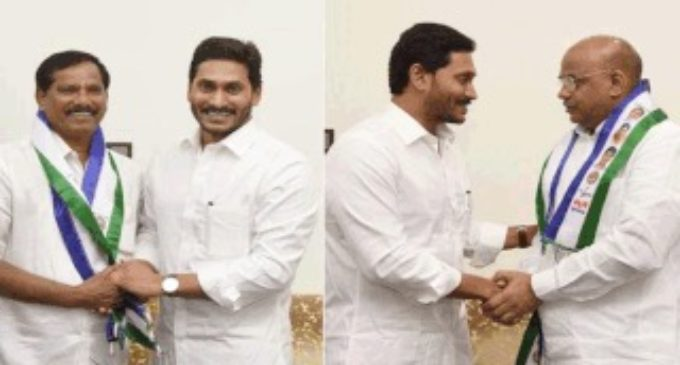 Jagan bags more opponents