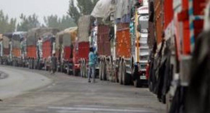Terrorists target apple trucks in valley