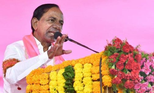 KCR wave stronger than Modi typhoon