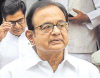 Chidambaram now in ED custody